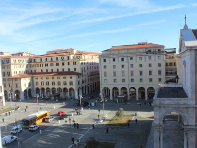 Photo for apartment overlooking the Duomo in Piazza Grande in Livorno