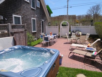 Photo for Walk to Beach and Town-Hot tub-Fire pit-A/C-Wifi-Pet Friendly-Exercise room-Welcome to Sandpiper