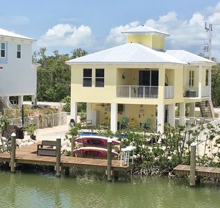 Photo for Sombrero Beach Home on Canal with Private Dock and Heated Pool
