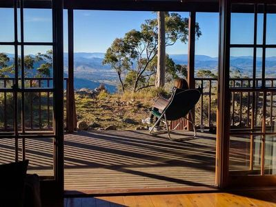 Photo for Bela Vista Spa Cabin - Magical Mountaintop Escape