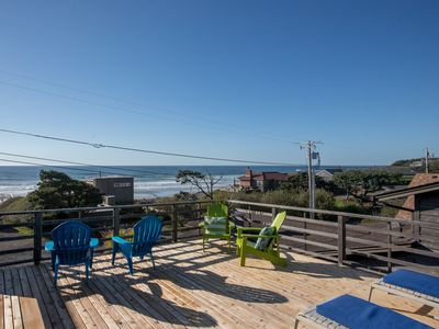 Photo for AMAZING OCEAN VIEWS! 100FT TO THE BEACH!