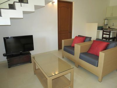 Photo for 04) 2 Bed Apart Riviera Hermitage Arpora & Wifi