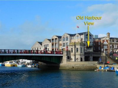 Photo for OLD HARBOUR VIEW, family friendly in Brewers Quay Harbour, Ref 994482