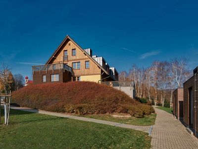 Photo for Cosy apartment in the Orlické (Eagle) Mountains, 2.5 km for the chairlift