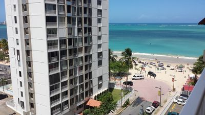 Beach View from the Balcony!