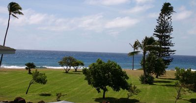 Photo for Whitewater Ocean View~ Across from Poipu Beach Park~Listen to the waves