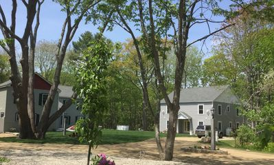 Lupine is huge--10 bedrooms, 6 full 2 1/2 baths, 2 screen porches & deck.