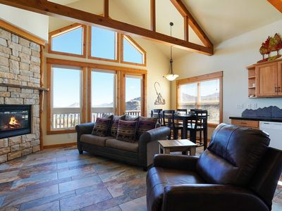 Photo for Mount Neota 33 - 2 Br condo with 2 fireplaces and Marys Lake and mountain views!