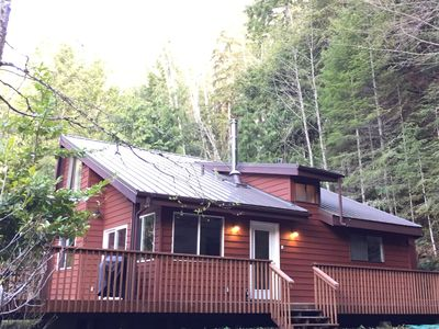 Photo for Enchanted Forest Cabin In Majestic Setting - Olympic N. P. On Your Doorstep