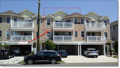 Photo for North Wildwood Beach Block Top Floor Sleeps 8