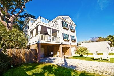 This is a home perfect for multiple familes..see our reviews.  Huge Great room!
