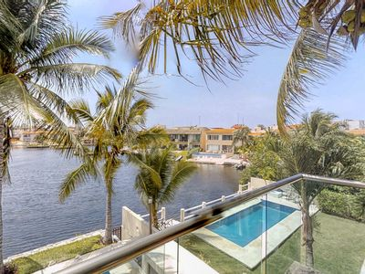 Photo for NEW LISTING! Waterfront studio in great location w/shared pool, kayaks and bikes