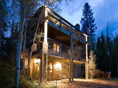 Photo for Peacefully located. 15 minutes to skiing. Step out to hiking trails.