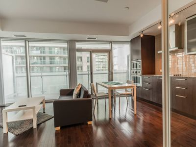 Photo for NEW!! CN Tower & Lake View, Luxury Condo