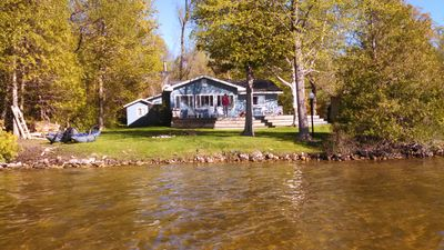 Photo for Charming 3 bedroom Cottage on South Lake Leelanau - 75 feet frontage on lake