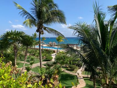 Photo for Oceanfront 3 Bed condo w/large private terrace, great views and breezes