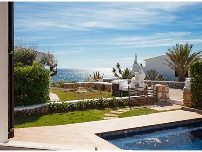 Photo for VILLA BINI ESTEL - Lovely, quality modern villa with amazing sea views