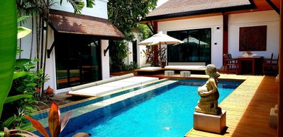 """Photo for ~ 3BR ~ """"VILLA PHUKET"""" with """"POOL"""" -walk to the """"BEACH"""""""