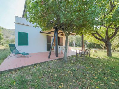 Photo for In the countryside with large garden - 3-room apartment Novella