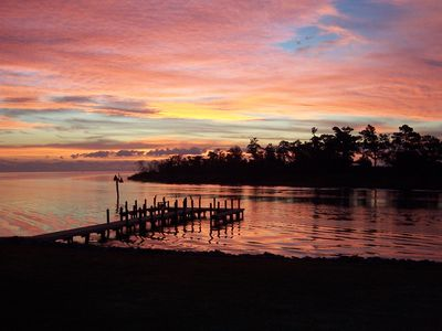 Photo for Waterfront lodging on the Pamlico Sound Outer Banks North Carolina