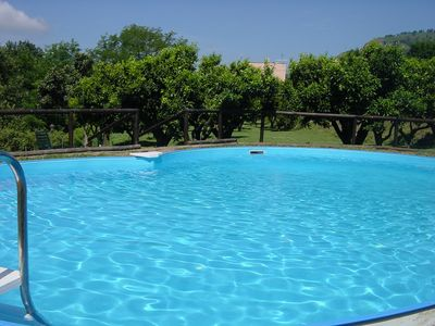 Photo for 6 bedroom Villa, sleeps 21 with Pool, Air Con, FREE WiFi and Walk to Shops