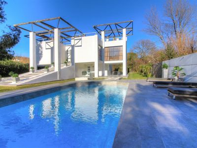 Photo for White Villa, 2 bedrooms, heated pool, air conditioning St Paul de Vence