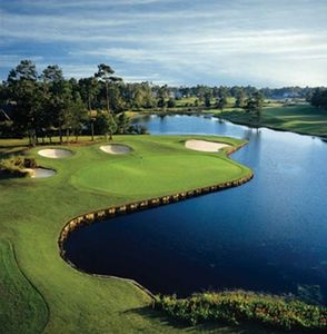 Three onsite golf courses only steps away from the condo!
