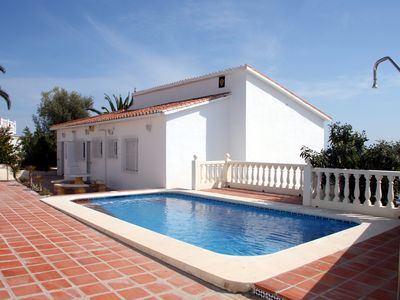Photo for Renovated Detached Villa With Private Pool & Terrace with sun all day