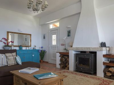 Photo for Large family Villa in Loutses 10 minutes from Kassiopi Panoramic sea views