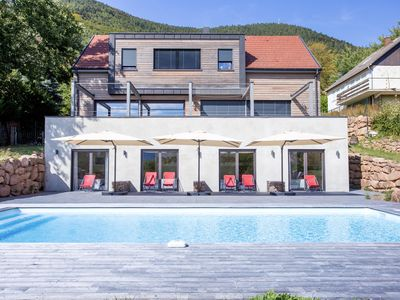 Photo for Bed & Breakfast, natural setting, panoramic view, swimming pool, fitness room