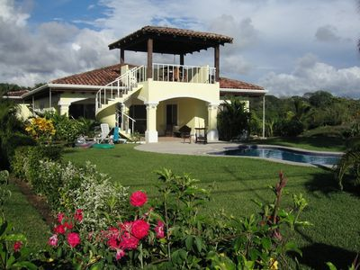 Photo for Beachfront 3BR Home W/Private Pool on Playa Hermosa 3 miles south of Jaco