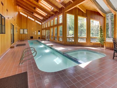 Photo for Incredible views & private indoor pool, hot tub, and SHARC access!