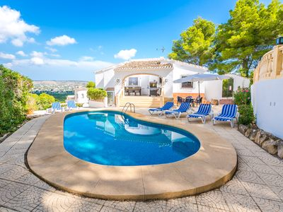 Photo for Villa in Javea With fantastic views WIfi and Air con