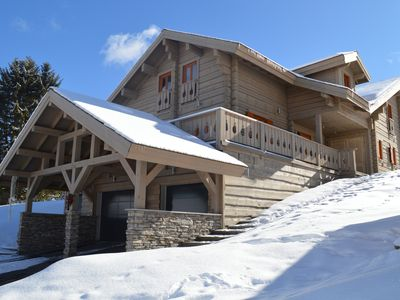 Photo for Upscale chalet sleeps 11