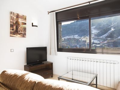 Photo for Orquidea apartment in Canillo with WiFi, private parking, balcony & lift.