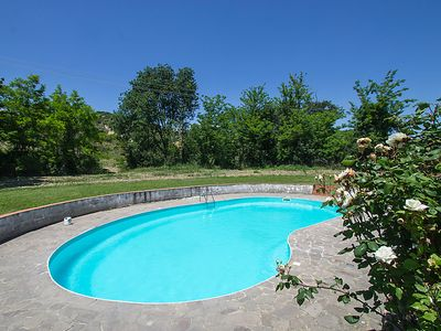 Photo for Vacation home Podere San Lorenzo in Cinigiano - 8 persons, 4 bedrooms