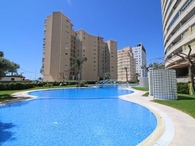 Photo for 2 bedroom Apartment, sleeps 5 with Pool, Air Con and Walk to Beach & Shops