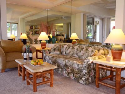 Photo for Palms at Wailea 901 - Luxuriously Decorated Spacious Unit w/ Large Private Lanai