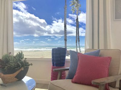 Photo for Adorable Beachfront Home, Huge Sandy Beach, Miles of Sand