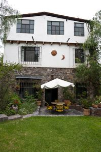 Photo for Private roof terrace. Short walk to downtown, pet friendly and private garden.