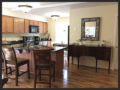 Photo for Beautiful, Spacious w/7 bedrooms (2 Kings) 6 full bath; 3 Levels; Pool/Ping Pong