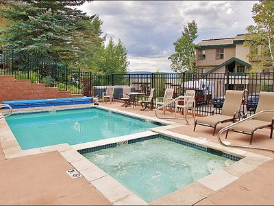Photo for **Discounted Lift Tickets** Outdoor Pool and Hot Tub, Walking Distance to Ski Mountain, Private Washer/Dryer