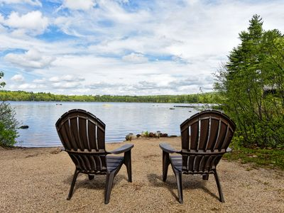 Photo for Waterfront Home On Big Pea with Canoe, Paddle Boat & Swim Dock