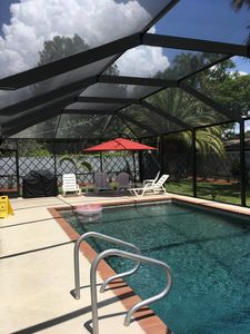 Photo for All Newly Remodeled, 2 Bedrooms With Heated Private Pool Home, Close Siesta Key