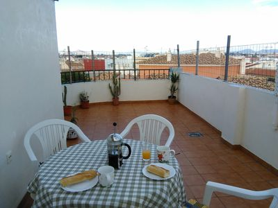 Large Private Terrace, not over looked