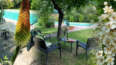 Photo for Beautifully situated detached family villa Umbria / Tuscany Castiglione del Lago