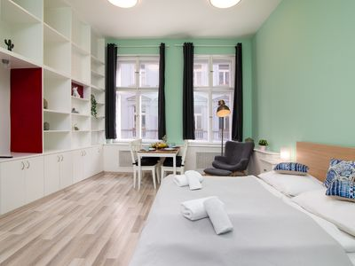 Photo for Soukenicka Apartcomplex Shelving pattern CZPR50 - Aparthotel for 2 people in Praha