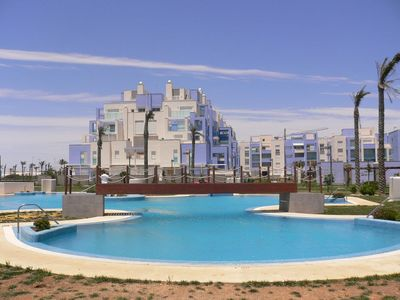 Photo for FIRST LINE BEACH APARTMENT WITH FANTASTIC SEA VIEWS