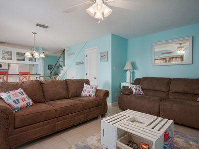 Photo for Plenty of Amenities For the Entire Family. 2 Story Townhome. Sleeps 8!