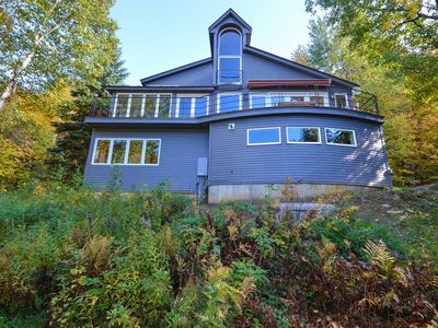 Photo for Spacious and Spectacular Stowe Home, amazing views close to town and Mountain!